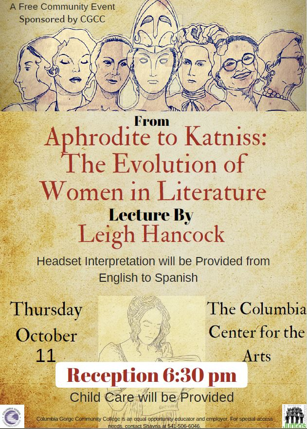 Bilingual Lecture Flyer, English