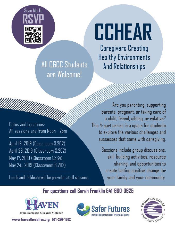 CCHEAR Flyer in English