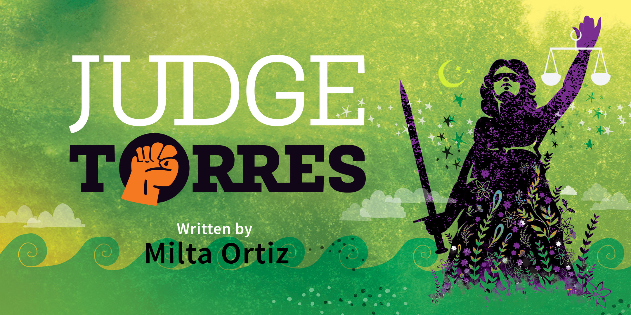 Judge Torres, an image of lady justice