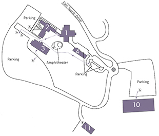 The Dalles Campus Map
