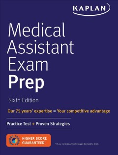 Medical assistant exam prep.